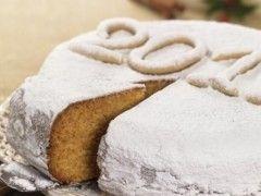 Εύκολη βασιλόπιτα κέικ