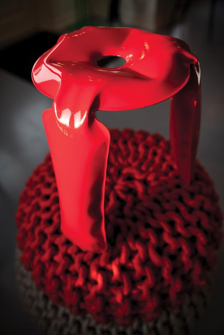 Plopp stool by Oscar Zieta, from DILMOS Milano