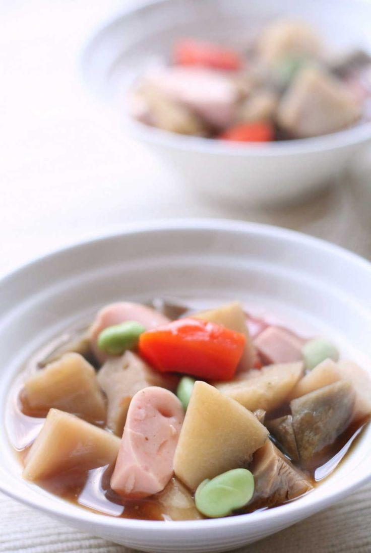 地域で味も見た目も違う!全国に伝わる「のっぺい汁」とは? - macaroni 魚肉ソーセージ入りのっぺい汁. http://macaro-ni.jp/32991