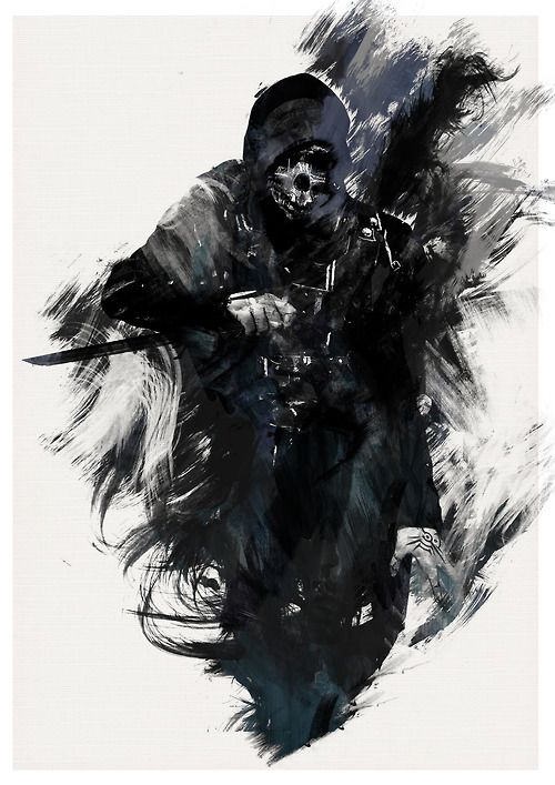 It is really fun to use game characters in RPG as NPCs... And really, really, REALLY fun to use them as villains... (Corvo from Dishonored by AJ Hateley)