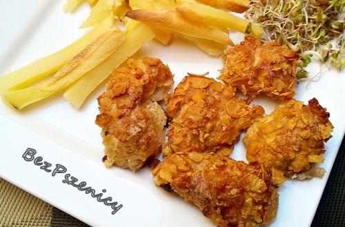 Bez Pszenicy: Kurczak w chrupiącej panierce kukurydzianej