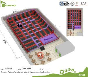 Kids Indoor Trampoline Bed ASTM Approved Indoor Trampoline Park and Used Trampoline for Sale on Made-in-China.com