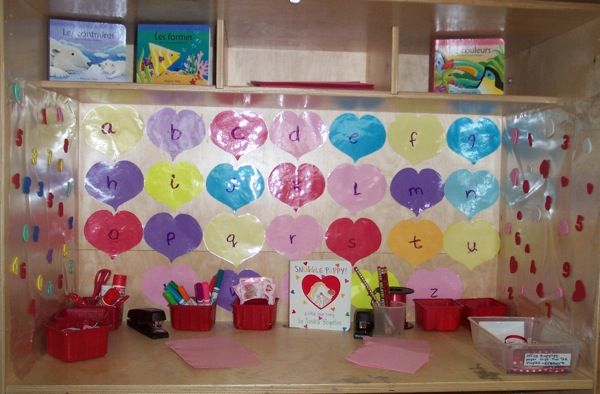 25 best ideas about valentine bulletin boards on for Preschool crafts for february