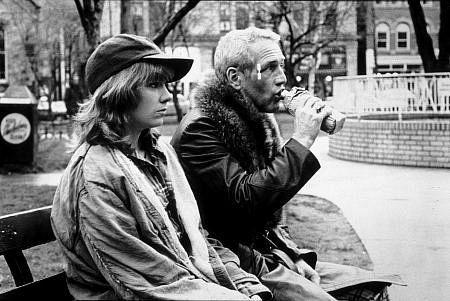 """""""Slap Shot,"""" (1977) Paul Newman & Lindsay Crouse."""