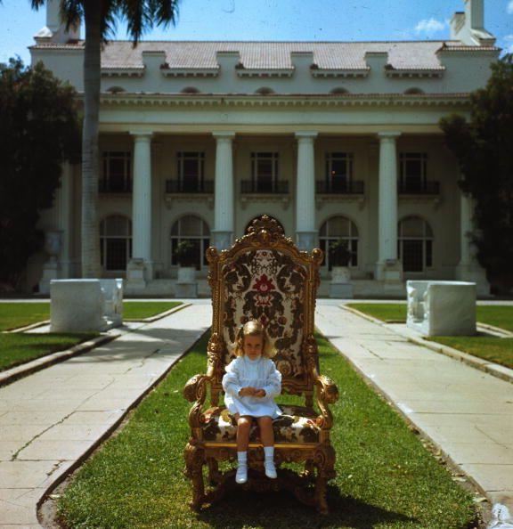 slim aarons w dog   Slim Aarons fam chair descendantOf Flagler palm beach Founder Artist ...