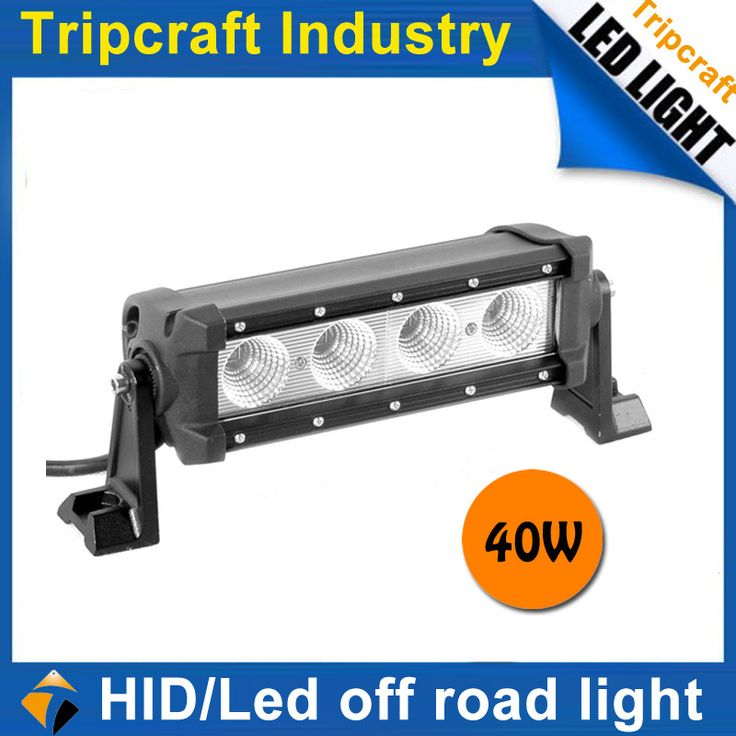 2015 High quality auto led working light 40w offroad truck car led work light