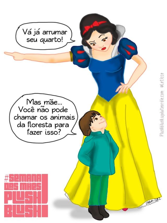 Mães Princesas #humor