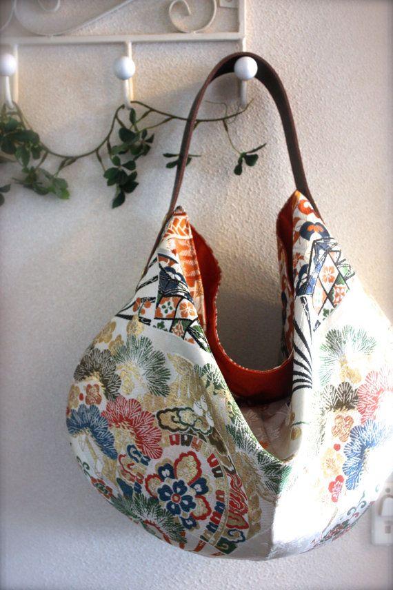 Obi / Kimono / Bag / BG623 Traditional Japanese by RummyHandmade, $80.00