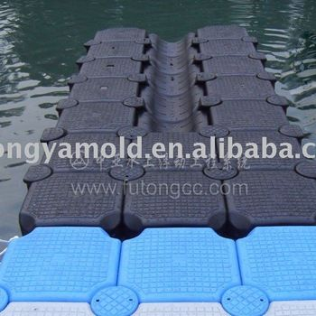 Source SANJ cheap HDPE floating dock and pontoon for PWC,jet ski and boat on m.alibaba.com