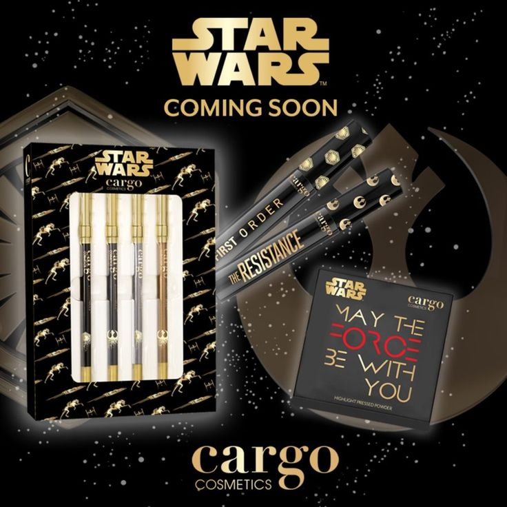 """Cargo Cosmetics is releasing a """"Star Wars"""" makeup collection"""