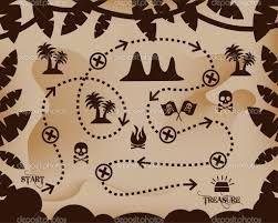 Resultado de imagen para mapa búsqueda del tesoro