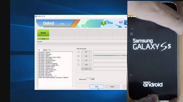 Root and flash TWPR recovery to Galaxy S5  g900F G900T G900W8R on Lolippop