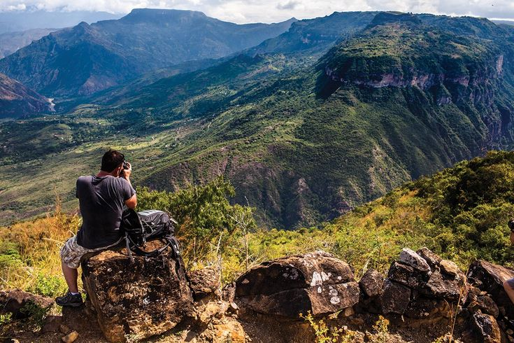 Beautiful #trekking in the #Chicamocha #Canyon, #Colombia.
