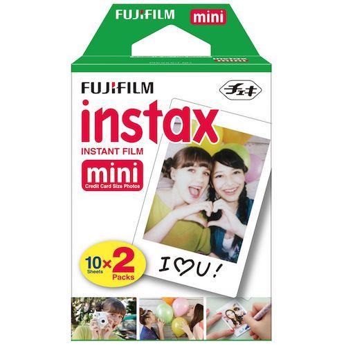 Fujifilm Instax Mini Plain Film |  Twin Pack (20 Film)