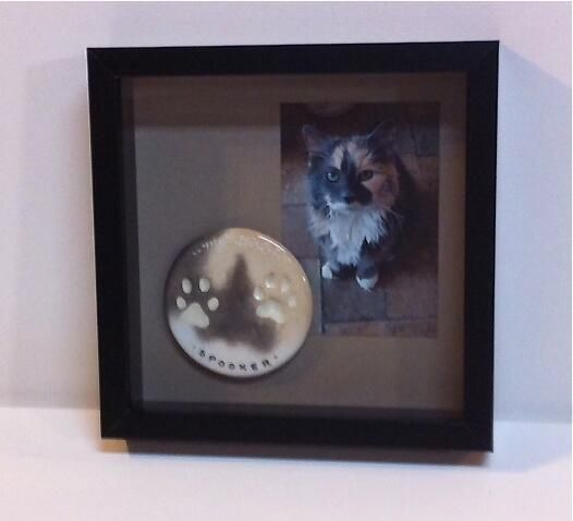 Here's a great example of how you can display your impression using a shadow box from Ikea