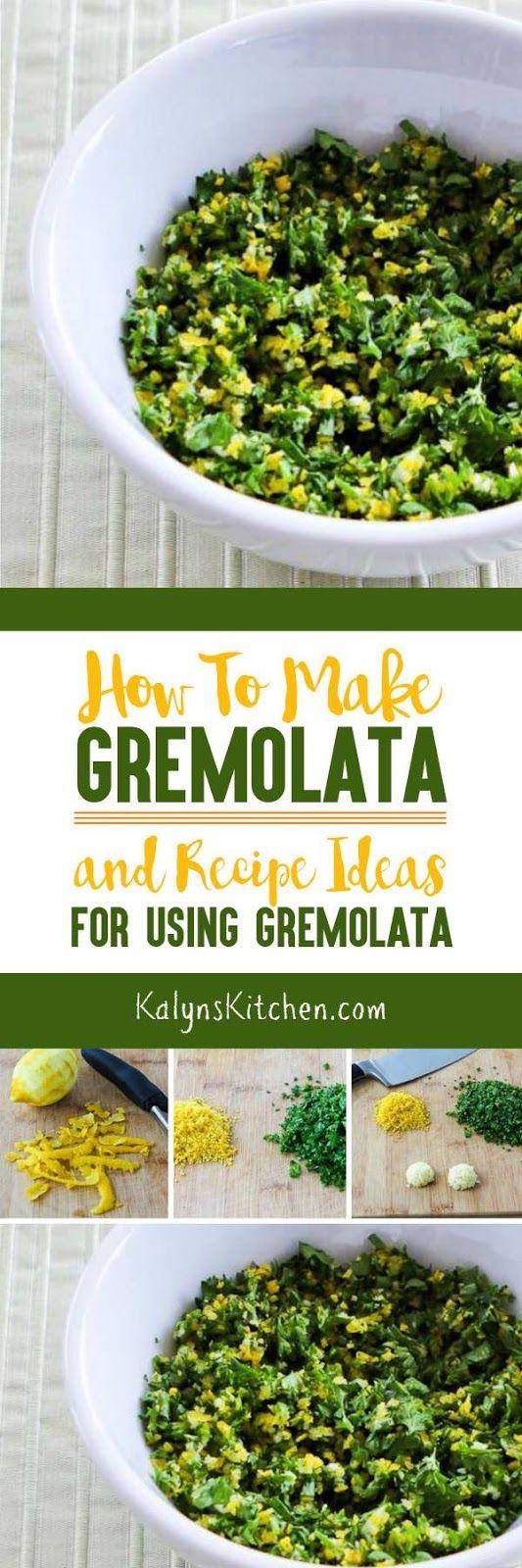 How to Make Gremolata and Recipe Ideas for Using Gremolata