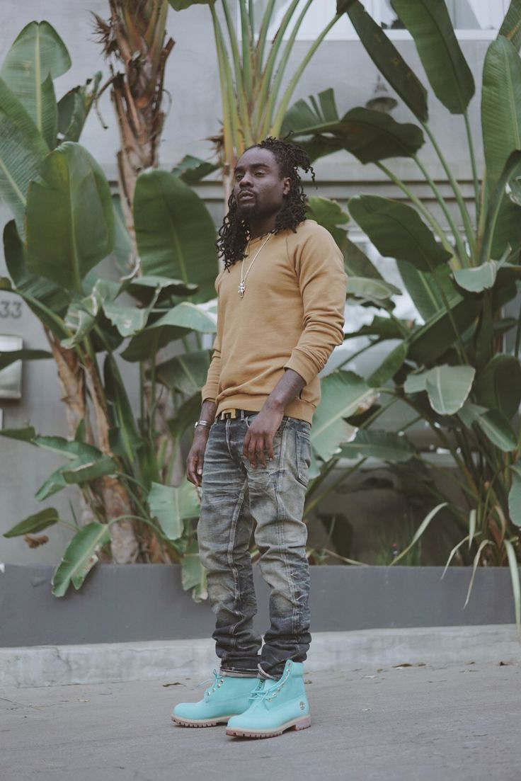 Wale & VILLA Reconnect for Bright Blue Timberland Boot