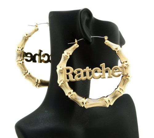 New Urban City Ghettos Celebrity Style Gold Ratchet Bamboo Hoop Earrings HYER2G NYfashion101, Inc.,http://www.amazon.com/dp/B00CHTRCVC/ref=cm_sw_r_pi_dp_9sG2rb18K5ZMSNNV