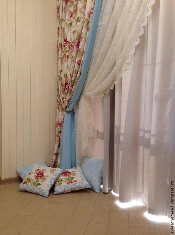 Текстиль в гостиную - шторы для гостиной