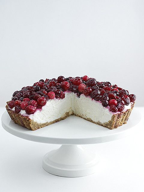 cranberry tart  #wishfarms #sweetsummertime