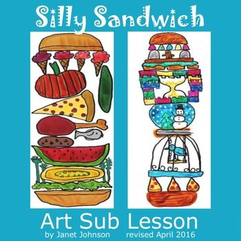 This is a revised version of this lesson. If you previously purchased this lesson, please download this corrected version for free. This art sub lesson requires little to no prep. It was created for art substitute teachers but may also be used by art teachers and classroom teachers.