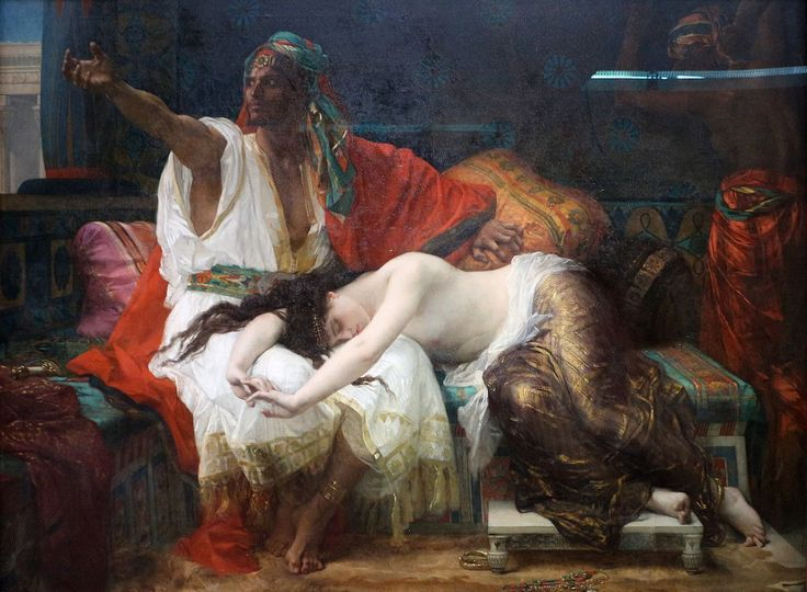 """Thamar"" (en 1875)   Alexandre Cabanel"