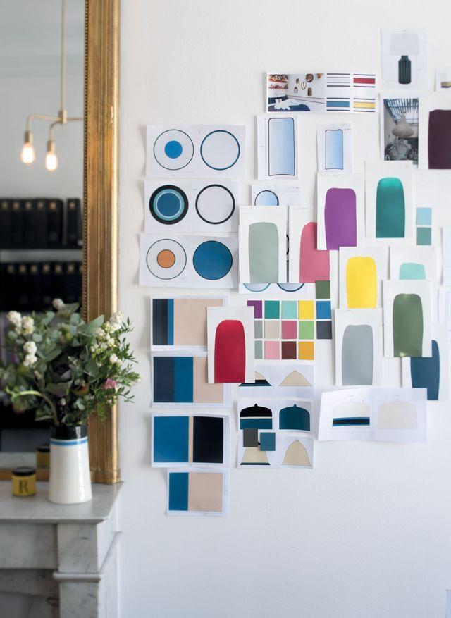 sarah lavoine cr e des peintures couleurs pour ressource. Black Bedroom Furniture Sets. Home Design Ideas