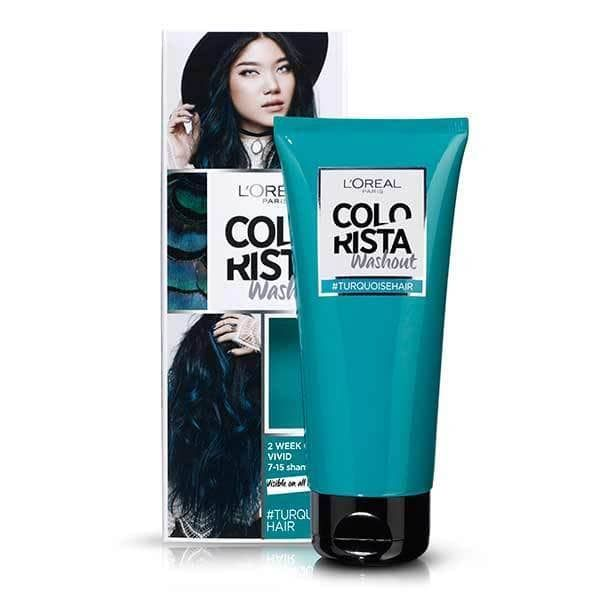 Colorista Washout Turquoise Semi-Permanent Hair Dye | Superdrug