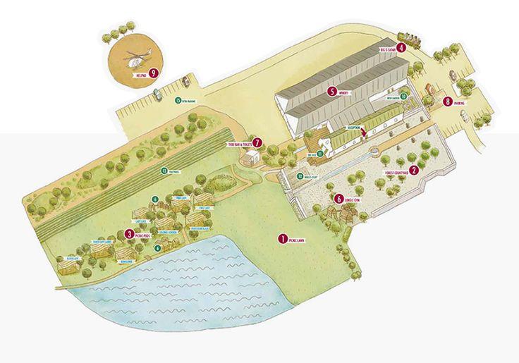 Map of Warwick Wine Estate