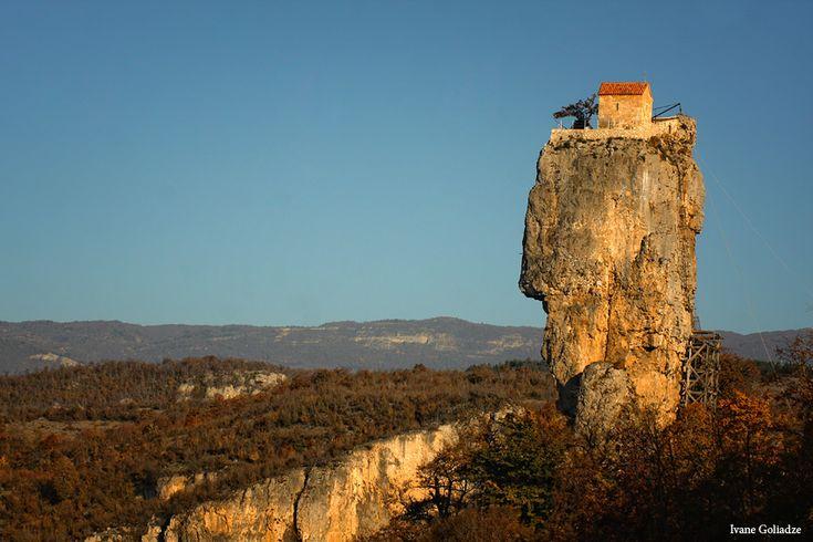 Katskhi pillar, Georgia Photo by Ivane Goliadze