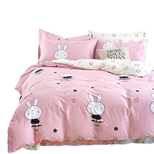 Mumgo Home Collection Bedding Sets for Kids Girl Lovely Rabbit 100% Cotton Duvet Cover Set Twin Full Queen King 4 Piece(Not Include Comforter) (King Size) BUY NOW     $93.89      MONEY BACK GUARANTEE    – It is 100% free from harmful substances. We think you're going  ..  http://www.homeaccessoriesforus.top/2017/03/08/mumgo-home-collection-bedding-sets-for-kids-girl-lovely-rabbit-100-cotton-duvet-cover-set-twin-full-queen-king-4-piecenot-include-comforter-king-size/