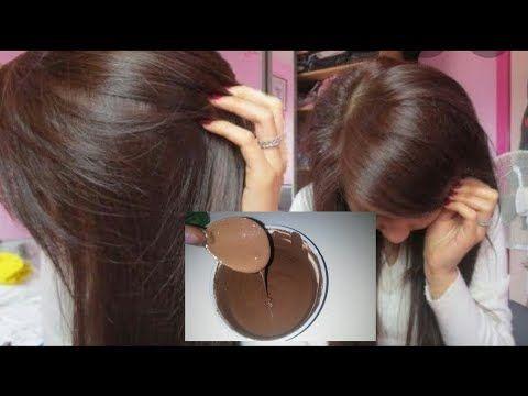صبغة طبيعية باللون البني اللامع تغطي الشيب اقسم بالله من اول استعمال مقوية و مغدية للشعر Youtube Hair Remedies For Growth Hair Care Oils Hair Beauty