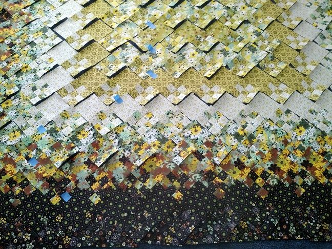 Blooming Nine Patch Fabric Requirements Bing Images