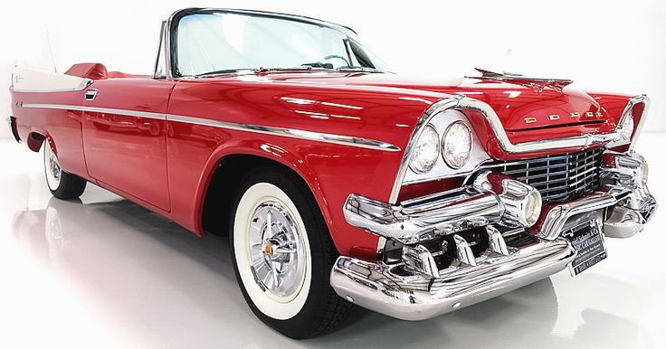 1958 Dodge Coronet Lancer Convertible with Super D-500