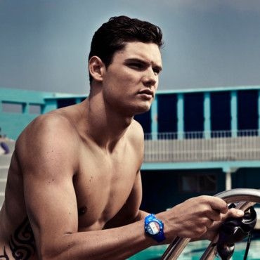 Florent Manaudou pour Ice Watch