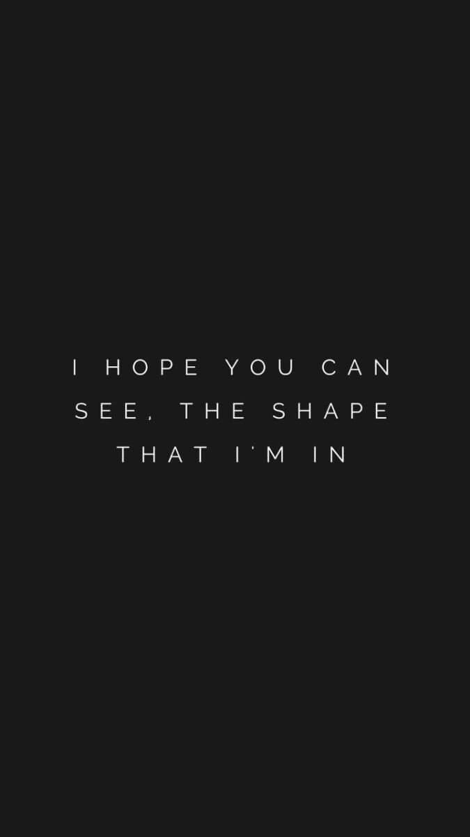 I hope you can see, the shape that i'm in🐘