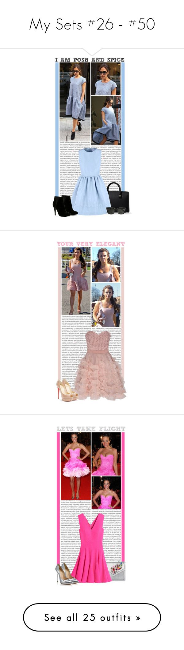 """""""My Sets #26 - #50"""" by lauren1993 ❤ liked on Polyvore featuring Oris, Victoria Beckham, RED Valentino, ALDO, GetTheLook, Blue, celebrity, victoriabeckham, Coleen Rooney and Glamorous"""