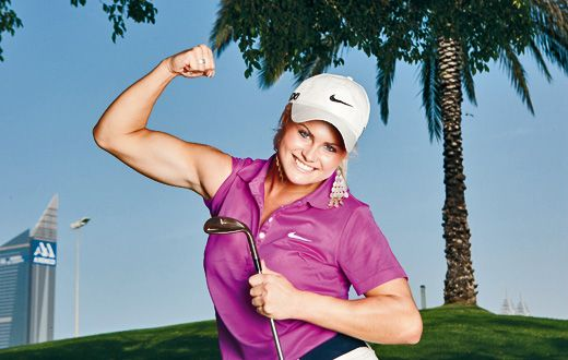 NCG Meets... Carly Booth | Lady Golf Players | Pinterest ...