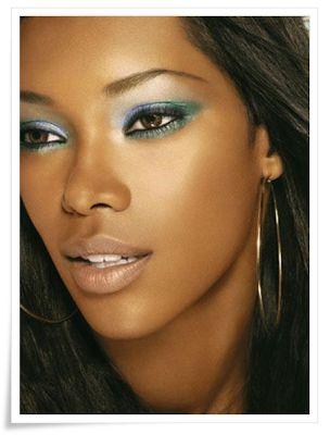 Maquillage pour peau noire 2013