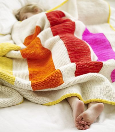 +++++++++: Stripey Blankets, Knits Gifts, Color, Learning To Knits, Baby Blankets, Joell Hoverson, Bright Quilts, Knits Blankets, Knits Machine
