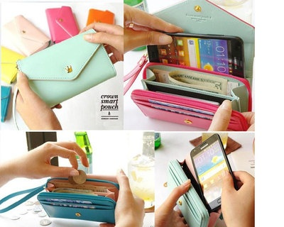 New Multi Propose Envelope Wallet Case Purse for Apple iPhone 4 4S 5g | eBay