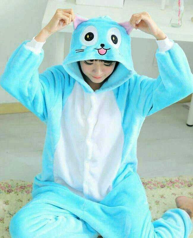 Fairy Tail Happy Onesie -- NEED THIS SO BAD