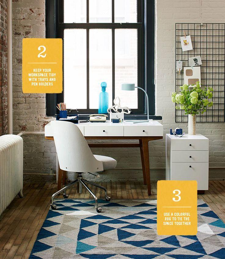 Fine setup for a home office - www.homeology.co.za