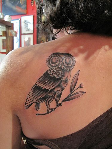Love the Athena Owl.