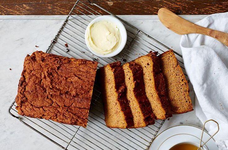 Przepis na słodki chlebek z batatów, bez ziaren, bez glutenu. Idealny na śniadanie lub jako przekąska. Bardzo zdrowy i sycący