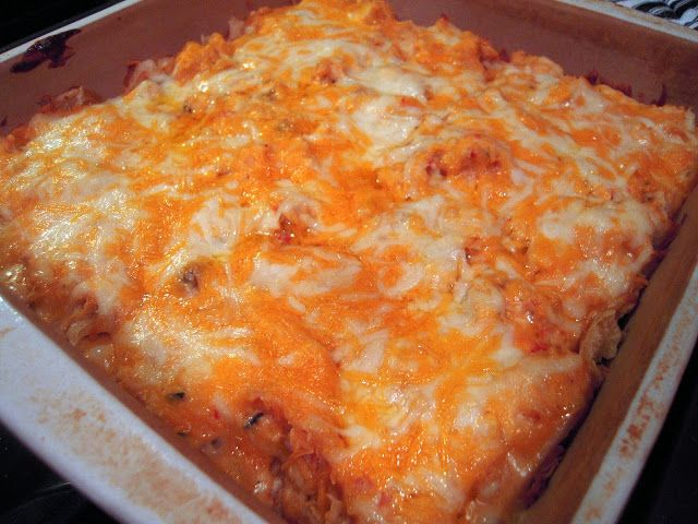 King Ranch Chicken. Love this dish! I double it and make a big casserole for company. It's always a hit.