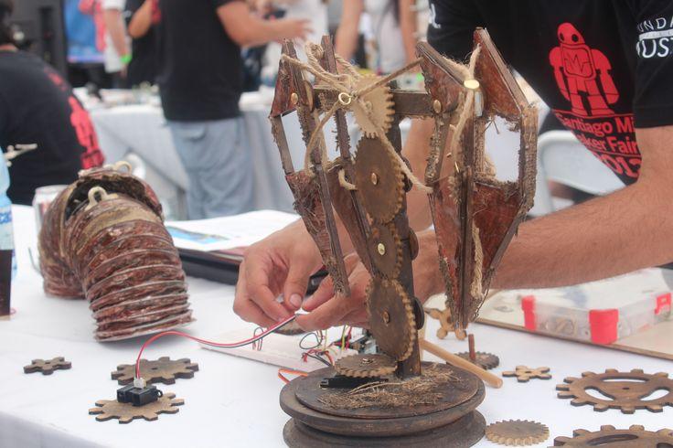 Prototipos Mini Maker Faire Santiago 2012