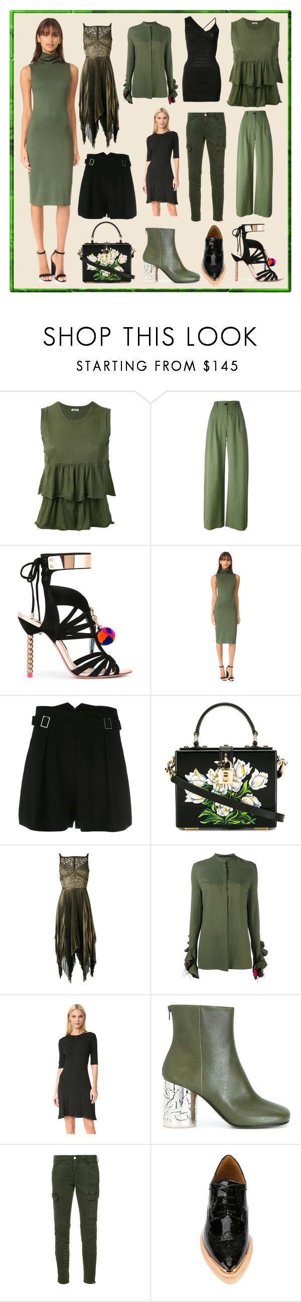 """""""Weekend Sale"""" by cate-jennifer ❤ liked on Polyvore featuring P.A.R.O.S.H., Sophia Webster, L'Agence, Zimmermann, Dolce&Gabbana, Elie Saab, Haider Ackermann, McQ by Alexander McQueen, Maison Margiela and J Brand"""