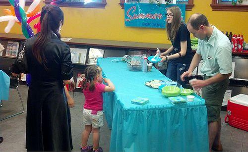 Manhasset Library Ice Cream Social.