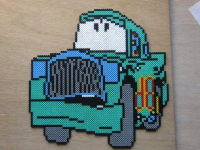 Cars character hama beads by perleshama30